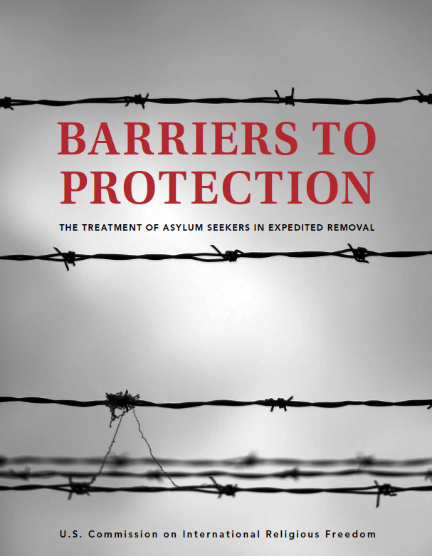 Report cover of Barriers to Protection