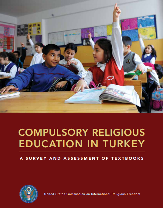 Cover for the Turkey Textbook Report
