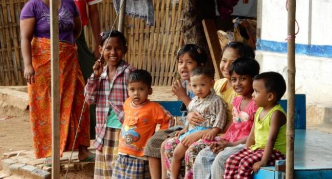 A camp for internally displaced Muslims in Meiktila, Burma.
