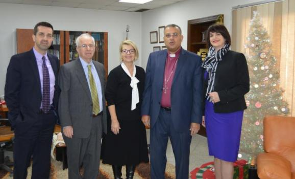 USCIRF delegation meets with Rev. Dr. Andrea Zaki, President of the General Protestant Council and General Director of the Coptic Organization for Social Services