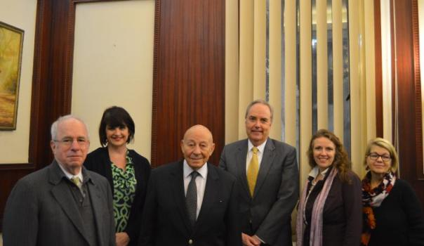 USCIRF delegation meets with Mohamed Fayek, President of the National Council of Human Rights