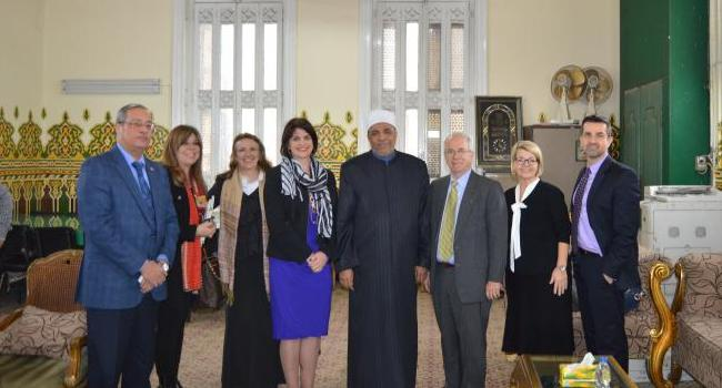 USCIRF delegation meets with officials at the Ministry of Religious Endowments