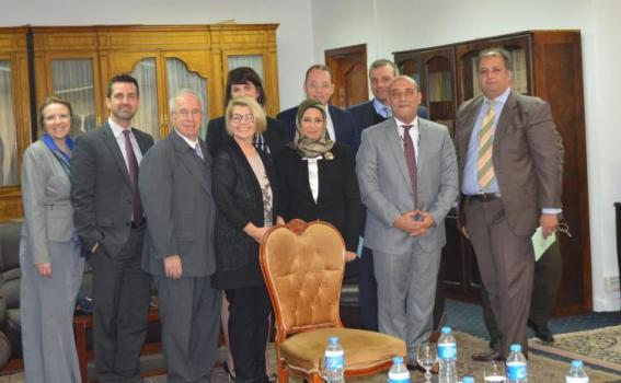 USCIRF delegation meets with officials at the Ministry of Justice