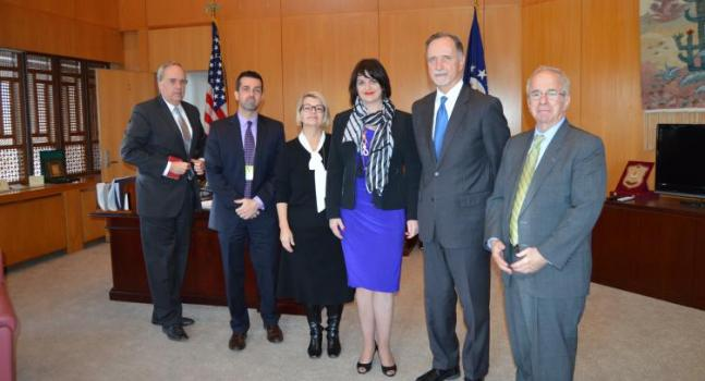 USCIRF delegation meets with U.S. Ambassador to Egypt Stephen Beecroft and DCM Thomas Goldberger