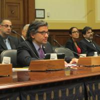 "USCIRF Vice Chair Dr. M. Zuhdi Jasser testifying on ""Human Rights Abuses in Egypt"""