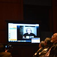 "Live Skype testimony from Father Phan Van Loi, Editor-in-Chief of ""Freedom of Speech"" and Co-Founder of the Association of Former Vietnamese Prisoners of Conscience."