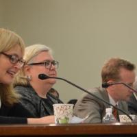 "USCIRF Vice Chair Katrina Lantos Swett testifying on ""The Plight of Religious Minorities in India"""