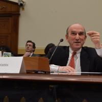USCIRF Commissioner Elliott Abrams testifies before a subcommittee of the House Foreign Affairs Committee.