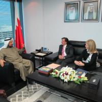 ": ""During a visit to Bahrain, USCIRF Vice Chairs Katrina Lantos Swett and Zuhdi Jasser meet with Minister for Human Rights Salah bin Ali Abdul Rahman to raise religious freedom concerns."""