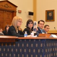 "USCIRF Co-chair Dr. Katrina Lantos Swett testifies before the House Foreign Affairs Joint Subcommittee Hearing on ""Iran's Persecution of American Pastor Abedini Worsens"""