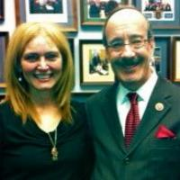 USCIRF Chair Katrina Lantos meets with Representative Eliot Engel (D-NY), March 5, 2013