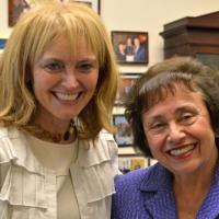 USCIRF Chair Katrina Lantos Swett meets with Representative Nita Lowey (D-VA) to present USCIRF's 2013 Annual Report, May 7, 2013