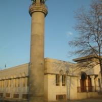 A Mosque in Kabul, Afghanistan