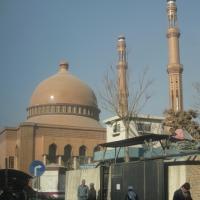 Hajji Abdul Rahman Moque in downtown Kabul