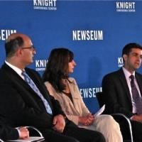 USCIRF Deputy Director for Policy and Research, Dwight Bashir, at Newseum event on Religious Liberty and Freedom of the Press in Iran on May 30, 2012