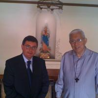 USCIRF chair Leonard Leo in the Philippines