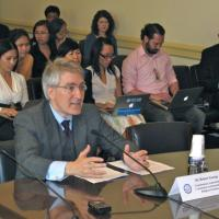 Commissioner Robert P. George testifies before the Tom Lantos Human Rights Commission, May 15, 2012