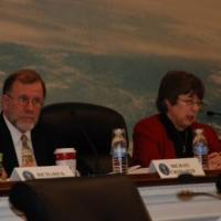 USCIRF chair Felice Gaer and commissioner Cromartie