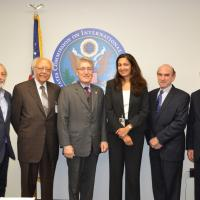USCIRF Commissioners meet with Urza Zeya the Acting Assistant Secretary of State for the Bureau of Democracy, Human Rights, and Labor on September 9, 2013