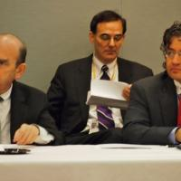 USCIRF Commissioners Elliott Abrams and M. Zuhdi Jasser at International Religious Freedom Rountable