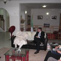 USCIRF chair Leonard Leo in Nigeria