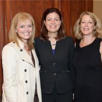 USCIRF Chair Dr. Katrina Lantos Swett, Senator Kelly Ayotte (R-NH), and USCIRF Executive Director Jackie Wolcott