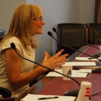 USCIRF Chair Katrina Lantos Swett testifying before the U.S. Helsinki Commission, July 18, 2012