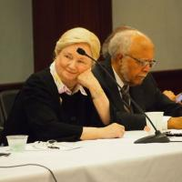 USCIRF Commissioners Mary Ann Glendon and William Shaw at the International Religious Freedom Roundtable on July 12, 2012