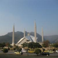 The Faisal Mosque, Islamabad, Pakistan