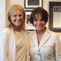 USCIRF Chair Dr. Katrina Lantos Swett with Representative Anna Eshoo (D-CA) at July 2012 meeting