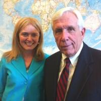 USCIRF Chair Katrina Lantos Swett with Representative Frank Wolf (D-VA), June 2012