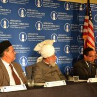 Senator Robert Casey (D-PA) giving remarks at reception welcoming the leader of the Ahmadiyya Muslim Comminity His Holiness Mirza Masroor Ahmad, June 27, 2012