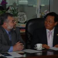 Commissioner Eid in South Korea