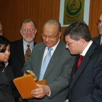 USCIRF chair Leonard Leo in Egypt