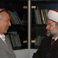 Commissioner Eid meets with former chief mufti Nasrullah Ibn Ibadullah