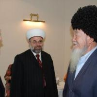 Commissioners Cromartie and Imam Eid in Turkmenistan