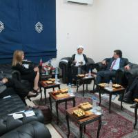 USCIRF delegation meets with Ali Salman, Secretary-General of the Al-Wefaq political society, December 12 2012