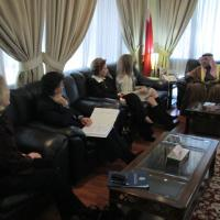 USCIRF delegation meets with Minister of Justice and Islamic Affairs Sheikh Khalid bin Ali Al Khalifa, December 13, 2012