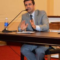 USCIRF Deputy Director for Policy and Research Dwight Bashir at blasphemy briefing, October 22, 2012