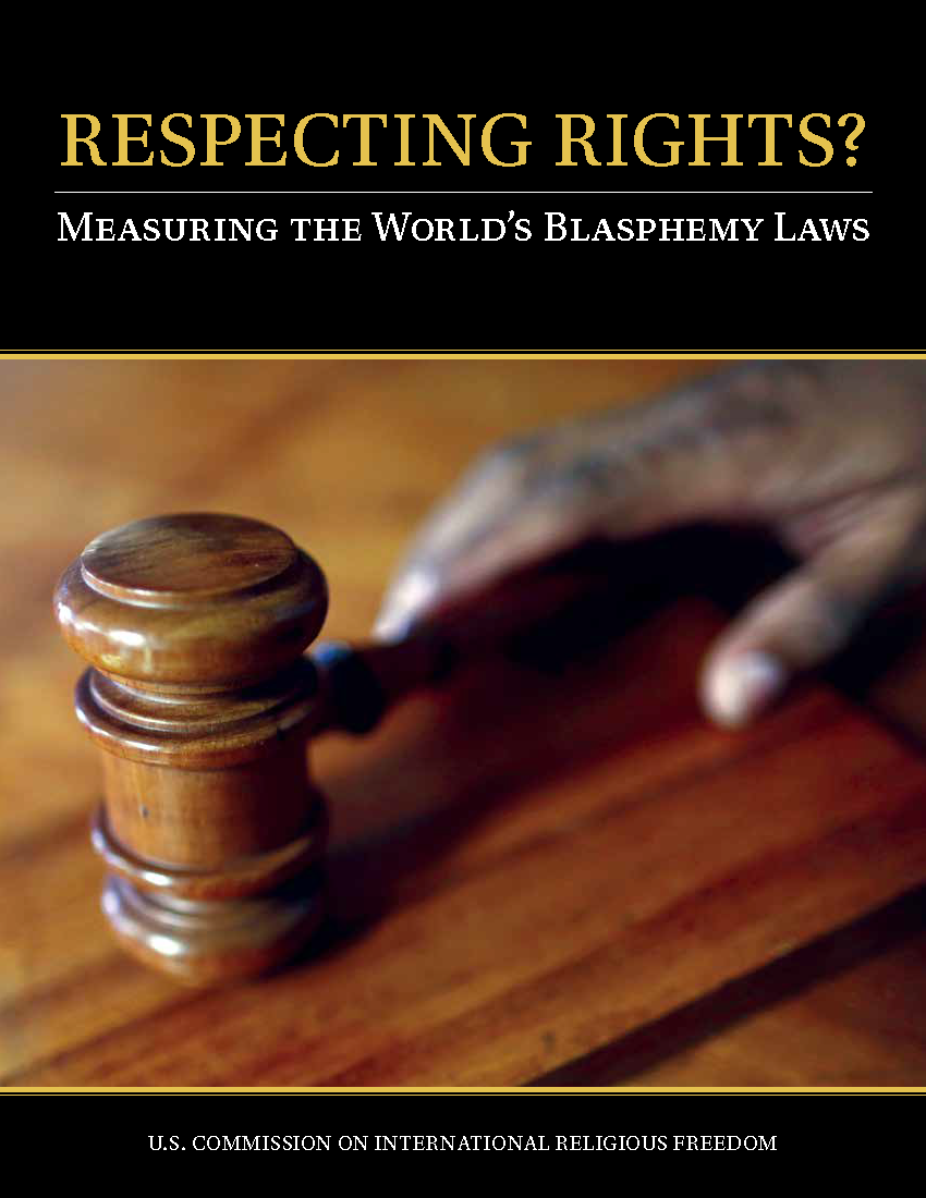 USCIRF Releases Report Measuring Blasphemy Laws' Compliance